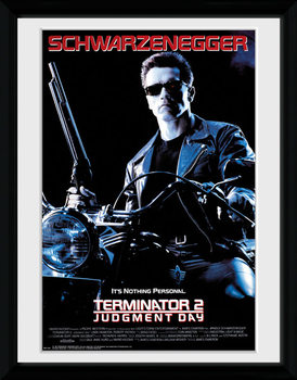 Terminator 2 - One Sheet kunststoffrahmen