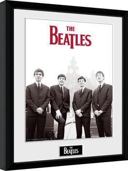 The Beatles - Boat gerahmte Poster