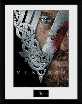 Vikings - Keyart gerahmte Poster