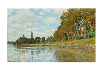 Claude Monet - Zaandam (Hollande) Kunsttrykk
