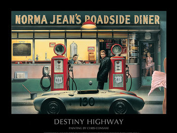 Destiny Highway - Chris Consani Kunsttrykk
