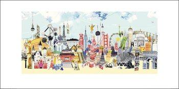 Hennie Haworth - China London Kunsttrykk