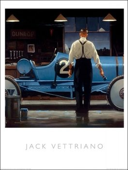 Jack Vettriano - Birth Of A Dream Kunsttrykk