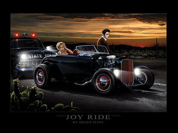 Joy Ride - Helen Flint Kunsttrykk