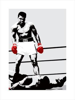 Muhammad Ali - Gloves Kunsttrykk
