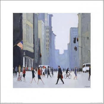 New York - 5th Avenue Kunsttrykk