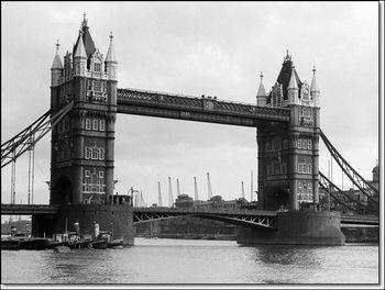 Philip Gendreau - View Of Tower Bridge Kunsttrykk
