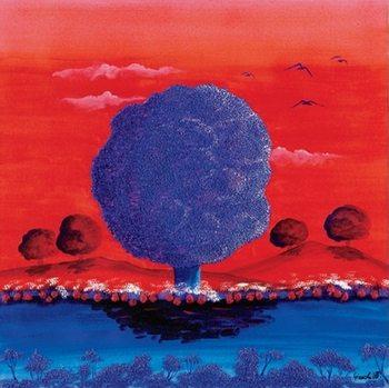Red Sunset Kunsttrykk