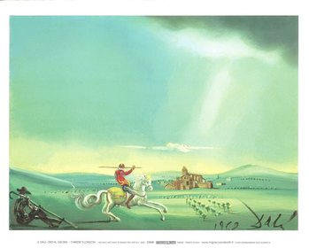 Saint George and the Dragon, 1944 Kunsttrykk