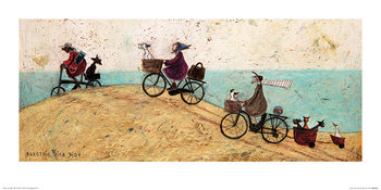 Sam Toft - Electric Bike Ride Kunsttrykk