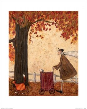 Sam Toft - Following the Pumpkin Kunsttrykk