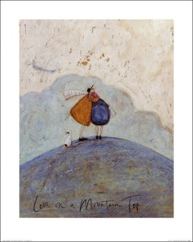 Sam Toft - Love on a Mountain Top Kunsttrykk