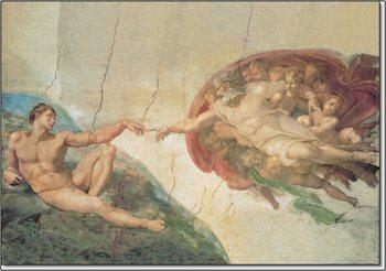 The Creation of Adam Kunsttrykk