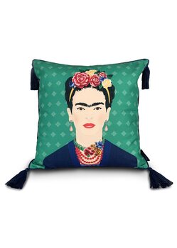 Kussen Frida Kahlo - Green Vogue