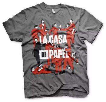 Maglietta La Casa Di Carta (La Casa De Papel) - La Pandilla