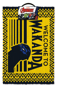 Lábtörlő Black Panther - Welcome to Wakanda