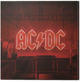 Billede på lærred AC/DC - PWR/UP