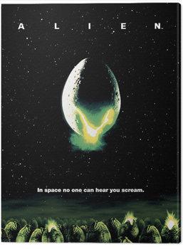 Billede på lærred Alien - One Sheet
