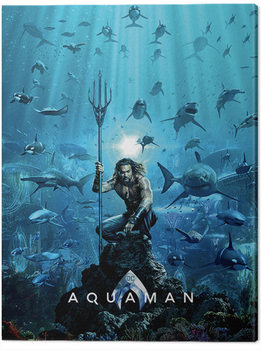 Aquaman - Teaser Billede på lærred