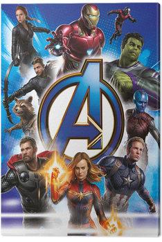 Billede på lærred Avengers: Endgame - Avengers Unite