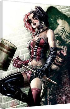 Billede på lærred Batman - Harley Quinn Pose