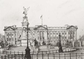 Billede på lærred Buckingham Palace, London, 2006,
