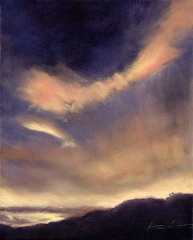 Butterfly Clouds, 2002 Billede på lærred