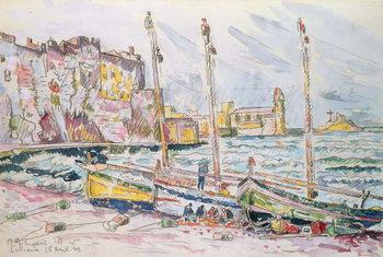 Collioure, 1929 Billede på lærred