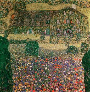 Billede på lærred Country House by the Attersee, c.1914