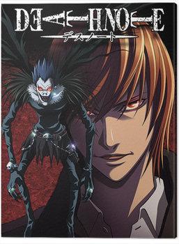 Death Note - Light and Ryuk Billede på lærred