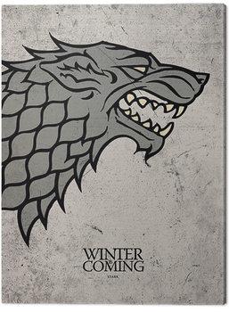 Billede på lærred Game Of Thrones - Stark