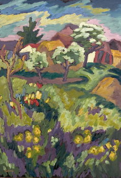 Garden of my Childhood, 2005 Billede på lærred