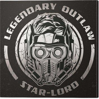 Billede på lærred Guardians of The Galaxy Vol 2 - Legendary Outlaw