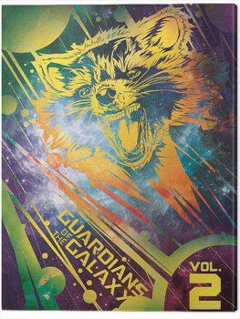 Billede på lærred Guardians of The Galaxy Vol. 2 - Rocket