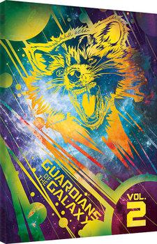 Guardians Of The Galaxy Vol. 2 - Rocket Billede på lærred