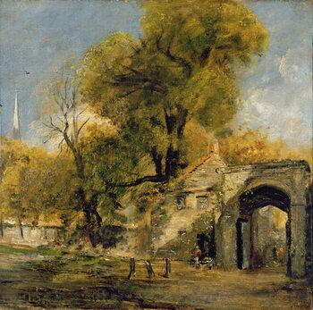 Billede på lærred Harnham Gate