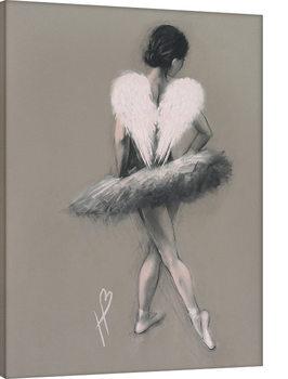 Hazel Bowman - Angel Wings III Billede på lærred