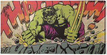 Billede på lærred Hulk - Thpooom