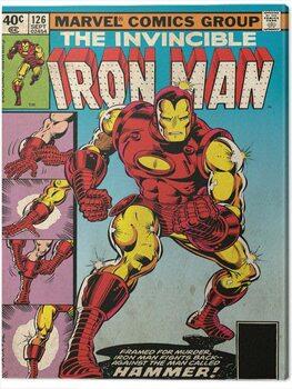 Billede på lærred Iron Man - Hammer