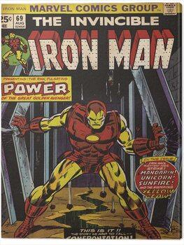 Billede på lærred Iron Man - Power