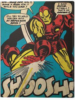 Billede på lærred Iron Man - Shoosh
