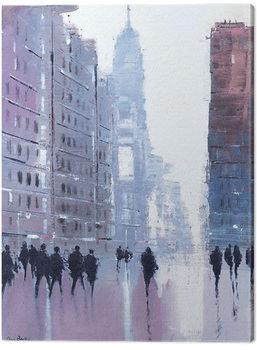Billede på lærred Jon Barker - Manhattan Reflections