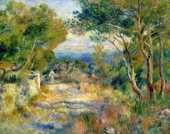 L'Estaque, 1882 Billede på lærred