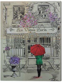 Billede på lærred Loui Jover - Au Vieux Paris