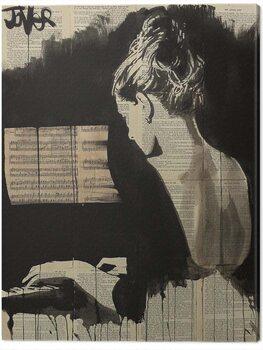 Billede på lærred Loui Jover - Her Sonata