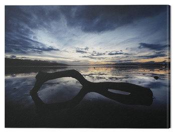 Billede på lærred Marina Cano - Beach Reflection