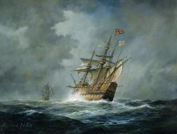 Billede på lærred 'Mary Rose'