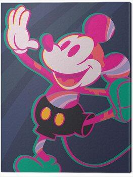 Billede på lærred Mickey Mouse - Warped