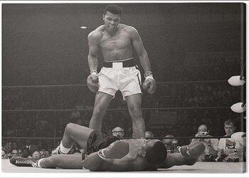 Billede på lærred Muhammad Ali - Ali vs Liston Landscape