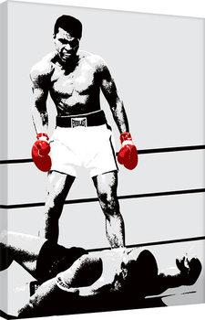 Billede på lærred Muhammad Ali - Gloves - Corbis